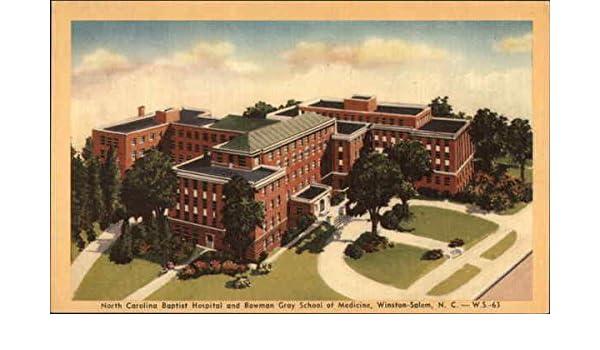 Amazon com: North Carolina Baptist Hospital & Bowman Gray