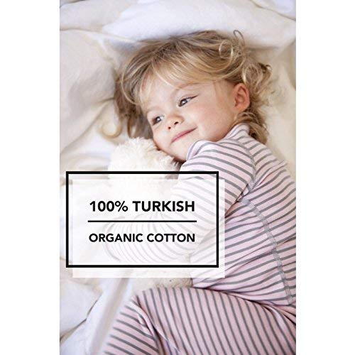 Amazon.com: Skylar Luna Girls Pajamas Set- 100% Organic Turkish Cotton- Long Sleeve Stripes & Prints: Clothing
