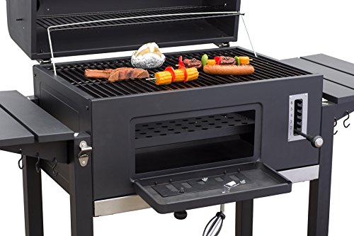Gas Oder Holzkohlegrill Xxl : Camping koffer gasgrill big size grillfläche grill center