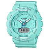 Ladies' Casio G-Shock S-Series Light Teal Step Tracker Watch GMAS130-2A