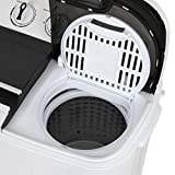 ZENY 2-in-1 Compact Mini Twin Tub Washing Machine