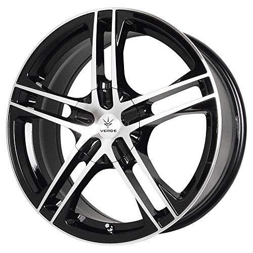 Verde Custom Wheels Protocol Black Wheel with Machined Lip (18x7.5