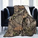 Soft Throw Blanket for Adults Children Camouflage
