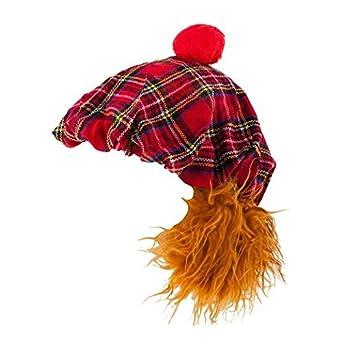 See You Jimmy Hat (Red Tartan) 014111b4b49