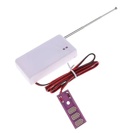 Gazechimp Sensor de Fuga Agua Sonora de Sonido Fuerte Indica Detector de Nivel Fácil Instalación
