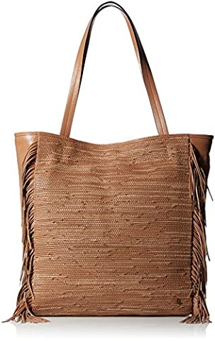 Elliott Lucca Bali '89 All Day Tote Bag, Almond Melaya, One Size - Elliott Lucca Leather Shoulder Bag