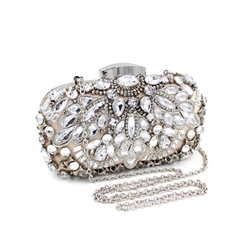 Party Embroidery Dinner Bag Holding Evening Bags Ladies Luxury HxwY8qtFC