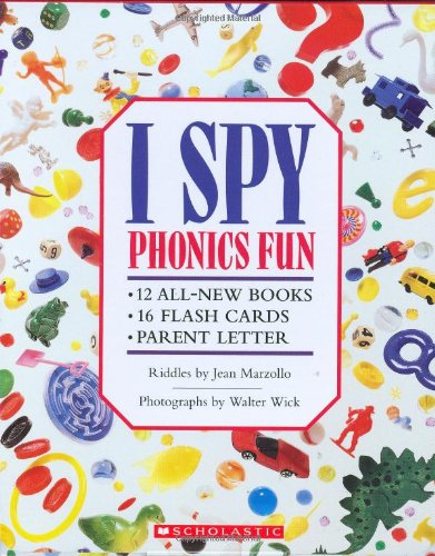 I Spy Phonics Fun Boxed Set (I Spy Phonics Fun)
