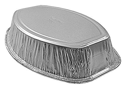 Handi-Foil Mini Oval Casserole Aluminum Pan - Disposable 22 oz Container (Pack of 12) by Handi-Foil (Image #2)'