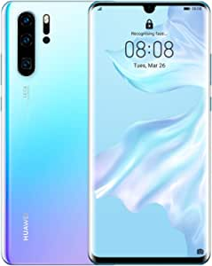 HUAWEI P30 Pro Smartphone, Dual Sim Mobile Phone with 6.47-Inch OLED Display and Leica Quad AI Camera, 8GB+256GB, Breathing Crystal - Australian Version