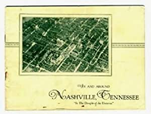 1920's In & Around Nashville Tennessee Booklet In the Dimple of the Universe