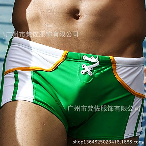 ZQ@QXNouveau style Klein maillots maillot,XXL,3 green
