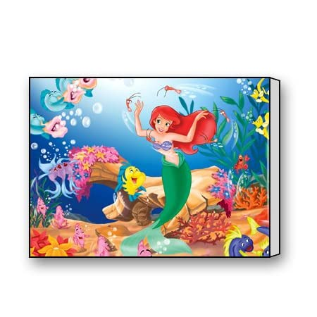 51UhHjWO3nL._SS450_ Mermaid Wall Art and Mermaid Wall Decor
