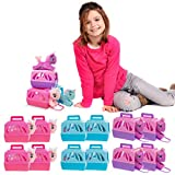 Polyfect (12 Pack Unicorn Stuffed Animals and Pet Carrier Toy Unicorn Party Supplies for Girls Bulk