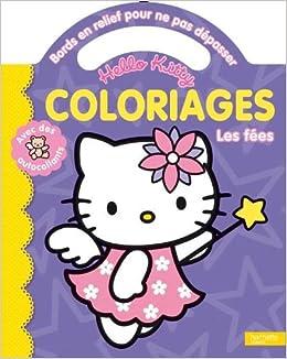 Coloriage De Fee Hello Kitty.Coloriages Pour Ne Pas Depasser Les Fees Hello Kitty French