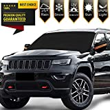 """Windshield Snow Ice Cover Magnetic Large Car Covers - Fit Any Car, SUV Truck Mirror Snow Covers 82"""" × 48"""""""