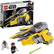 LEGO Star Wars Anakin's Jedi Interceptor 75281 Building Toy for Kids, Anakin Skywalker Set to Role-Play Star W