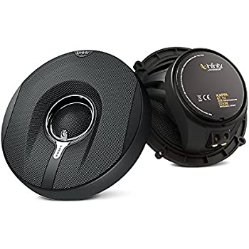 Infinity Kappa 62.11I 150W 6.5-Inch 2-Way Kappa Series Coaxial Speakers