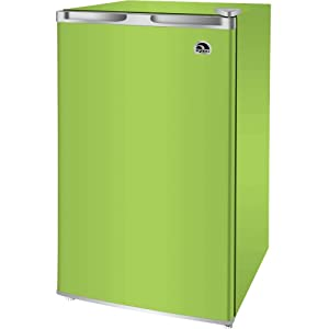 RCA RFR321-FR320/8 IGLOO Mini Refrigerator, 3.2 Cu Ft Fridge, Lime