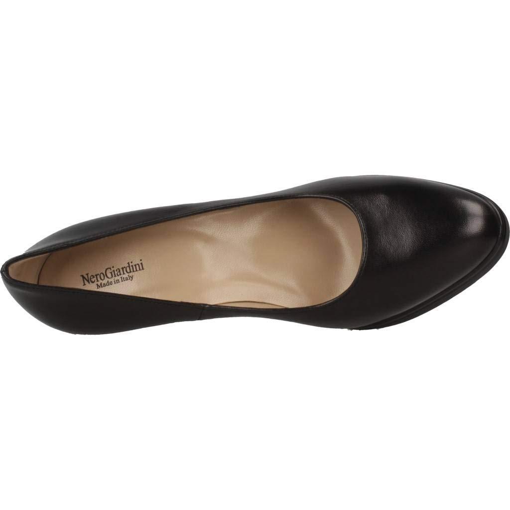 schwarz Giardini Damenschuhe Dekolleté schwarzem Leder A806311D   100 100 100 b1c368