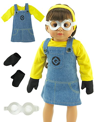 Cute Minion Costumes (Minion Inspired Halloween Costume | Fits 18