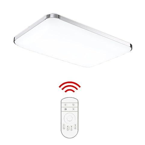 Hengda® 48W Led Deckenleuchte Deckenlampe Wohnzimmer Bad Küche
