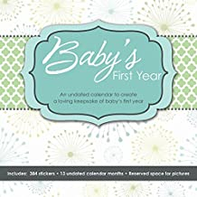 Baby's First Year (Perpetual w/bonus sticker sheet) 2016 Wall Calendar by Trends (August 01,2014)