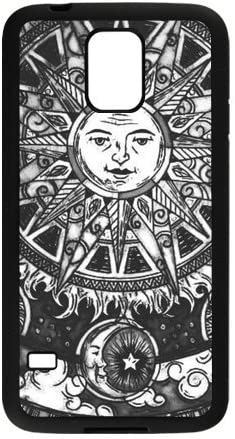 Amazon Com Unique Printing Art Custom Trippy Moon And Sun Phone