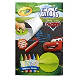 Crayola Sidewalk Tattoos Disney Cars