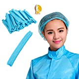 SETH-100 Pcs-21 Inches-Bouffant Disposable Hairnets