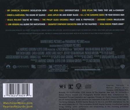trilha sonora watchmen