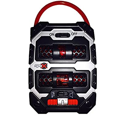 SpyX / Spy Tracker - Creative Child Award Winner of The Year! Spy Toy Used to Track Suspicious Movement Outside Your Hiding Place up to 75ft Away! Perfect Addition for Your spy Gear Collection!: Toys & Games