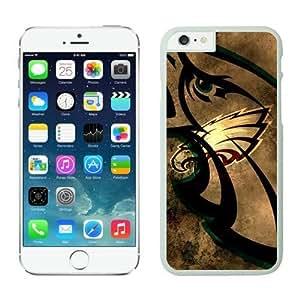 NFL iPhone 6 Plus 5.5 Inches Case Philadelphia Eagles White iPhone 6 Plus Cell Phone Case ONXTWKHC3468