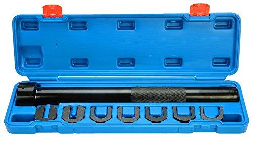 8MILELAKE Inner Tie Rod Removal Tool Set Car Auto Mechanics Inner Tie Rod Tool ()