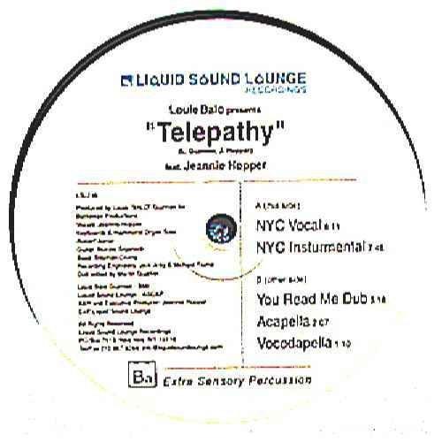 Telepathy - Louie Balo Ft Jeannie Hopper 12
