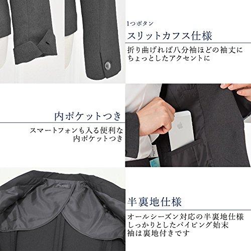 (アッドルージュ) AddRouge スーツ レディース 長袖 2点セット スカートスーツ マーメイドスカート テーラードジャケット 洗える【j5037】
