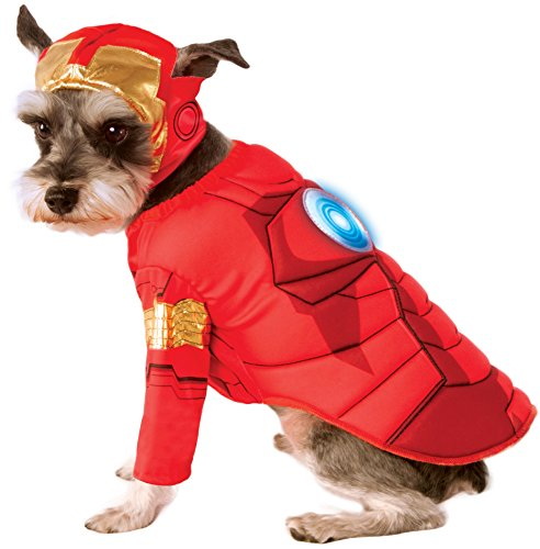 Image of Rubie's Avengers Assemble Deluxe Iron Man Pet Costume, Large