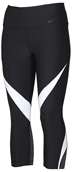 88ec1b30788acb Amazon.com: Nike Women's Dri-Fit Power Legend Training Capris-Black ...