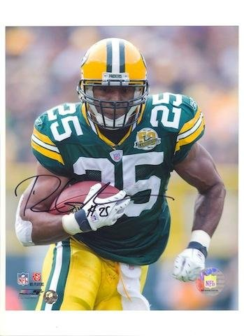 Ryan Grant Green Bay Packers 8x10 Photo Autographed - Autographed NFL ()