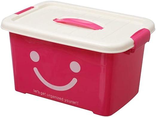 YANQ Caja de Almacenamiento de plástico en el hogar Cierre y ...