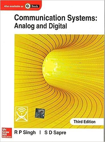 Communication System Analog And Digital Singh And Sapre Pdf