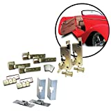 AutoLoc Power Accessories 9615 2-Door Individual Suicide Hidden Hinge System Super Kit