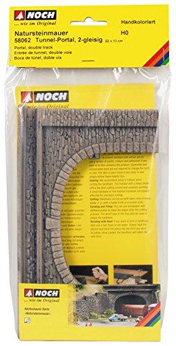 - 58062 NTRL Stone Portal Double HO Scale Model