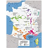 "Wine Folly France Wine Map Poster Print, 12"" x 16"""
