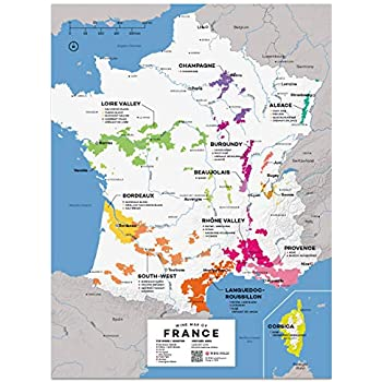 Map Of France To Print.Amazon Com Map Of France Carte De France Poster Print