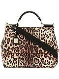 Dolce E Gabbana Women's BB6051AG341HA93N Multicolor Cotton Handbag