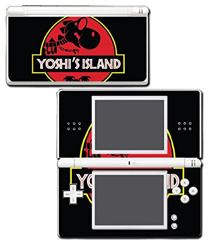 Yoshi's Island Jurassic T-Rex Video Game Vinyl Decal Skin Sticker Cover for Nintendo DS Lite System