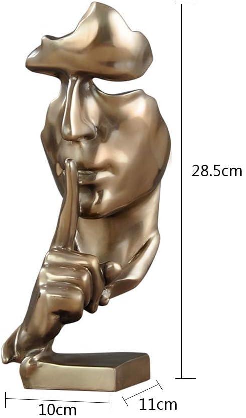 WEHOLY Statua Scultura Decorazione Scultura Astratta Pensatore Decorazione Statua Fatti a Mano Statuette Stile Moderno Antichit/à e Oggetti da Collezione Statuetta Scala Lunga