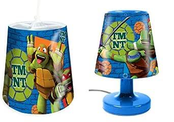 Teenage Mutant Ninja Turtles - Juego de lampara de noche y ...
