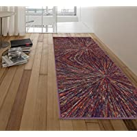 Ottomanson RNB2116-20X59 Rainbow Collection Runner Rug